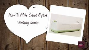 Diy wedding invites with the cricut explore hobbycraft for How to make wedding invitations on cricut explore