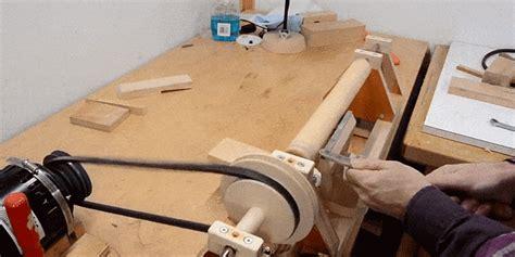 build  wood lathe  scratch