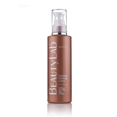 Beautylab Peptide Tanning Skin Lotion Untinted