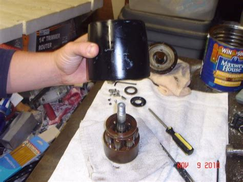 Hydraulic Boat Steering Not Working by Seastar Steering Helm Rebuild With Pics The Hull