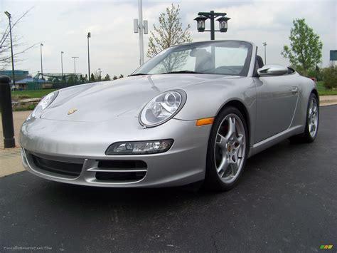 2006 Porsche 911 Carrera S Cabriolet In Arctic Silver