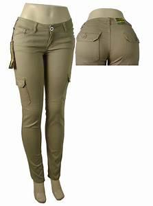 girls and woman uniform skinny khaki cargo pants   eBay