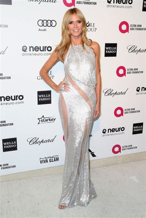 Heidi Klum Elton John Aids Foundation Oscar Viewing