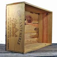 used wine crates presentation | Linziloop