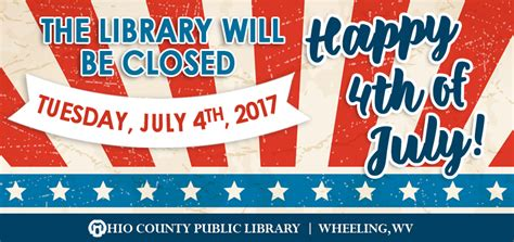 News > Library Closed On 4th Of July  Ohio County Public. Kids Christmas Party. Free Photography Website Template. Gay Pride Posters. Project Tracking Template Excel. Resume Template Medical Assistant. Highest Graduation Rates By State. Therapist Treatment Plan Template. Brochure Template For Google Docs