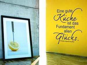 Farbgestaltung Küche Wand : wandtattoo eine gute k che ist fundament allen gl cks ~ Sanjose-hotels-ca.com Haus und Dekorationen