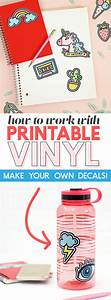 How to make vinyl stickers kamos sticker for How to print your own labels at home
