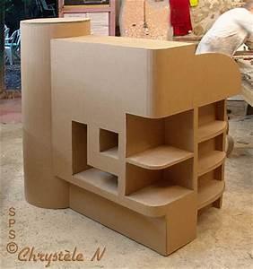 Meuble En Carton Design : avis sur la formation apprendre travailler le carton ~ Melissatoandfro.com Idées de Décoration