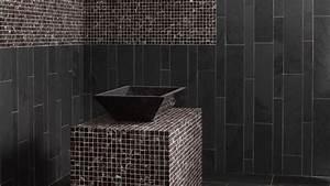 carrelage ardoise pour salle de bain With salle de bain gris ardoise