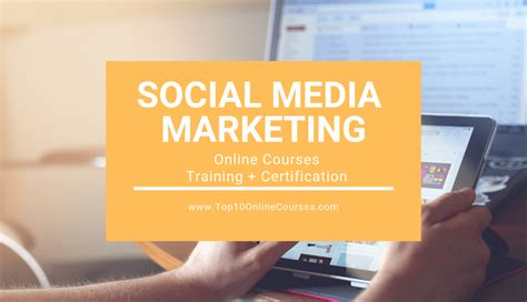 social media marketing certification free best digital marketing courses with