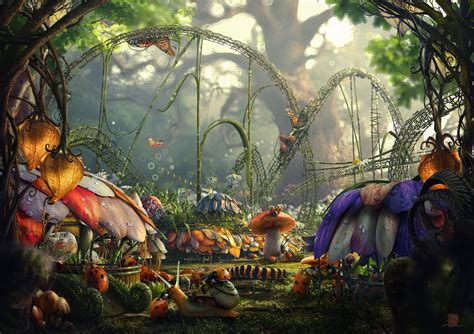 Burton Flower And Garden by Living In The Surreal World Absolutely Amazing Surreal