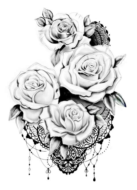 Pin by Laura McGee on tattoo | Lace tattoo design, Lace tattoo, Rose tattoos