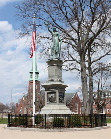 Civil War Monument Holyoke Mass Lost New England