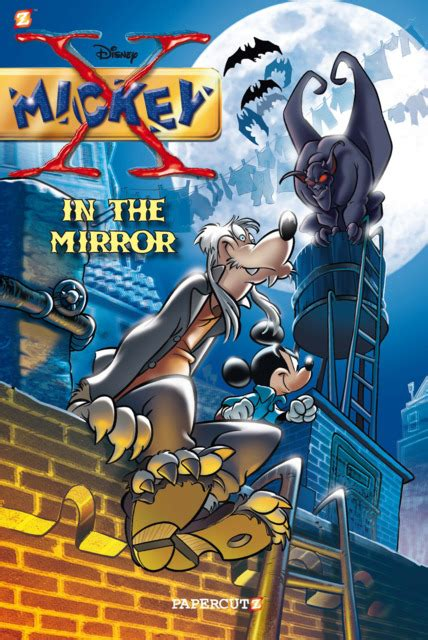 mickey graphic novels disney minnie daisy friends mirror vol forever papercutz author issue bruno