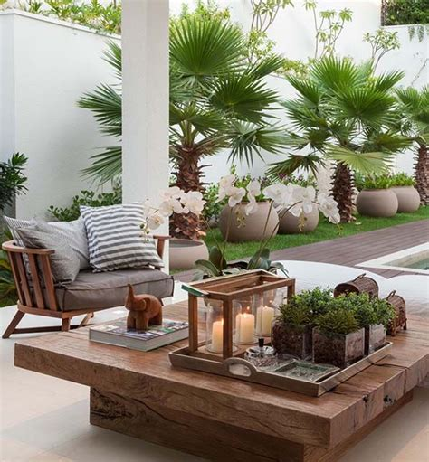 17 best ideas about outdoor table decor on diy outdoor furniture outdoor wood table