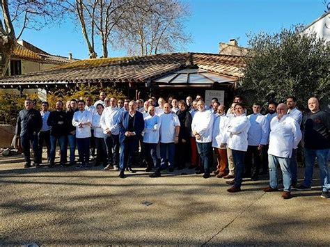 fournisseur de materiel de cuisine professionnel enodis a réuni les chefs du sud chez gilles goujon à