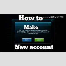 Mobile Legends How To Make New Account Youtube