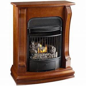 "Shop Cedar Ridge Hearth 29-1/8"" Sienna Vent-Free Gas"