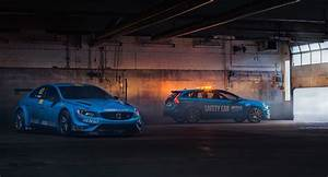 Wallpaper Volvo V60 Polestar, WTCC Safety Car, Cars