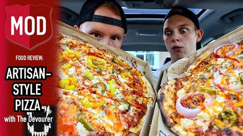 mod鑞es cuisines mod pizza food review with the devourer season 4 episode 30