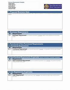 40 simple business requirements document templates for High level business requirements document template
