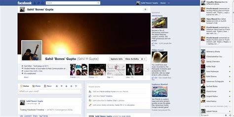The new look Facebook (Images) | NDTV Gadgets 360