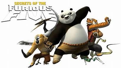 Panda Fu Kung Furious Five Secrets Hindi