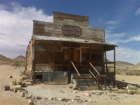 rhyolite  queen city   largest town