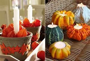 Tischdeko Selber Machen Herbst : moderne tischdeko herbst mit kerzen selber basteln freshouse ~ Orissabook.com Haus und Dekorationen