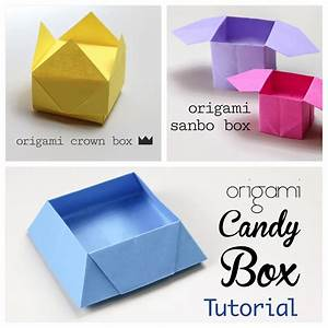 3 Easy Origami Boxes - Photo Instructions - Paper Kawaii