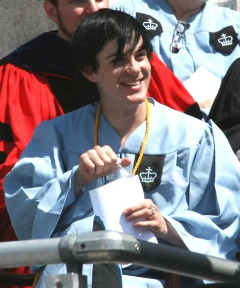 Maxwell Bertolero is all smiles at his graduation from ...