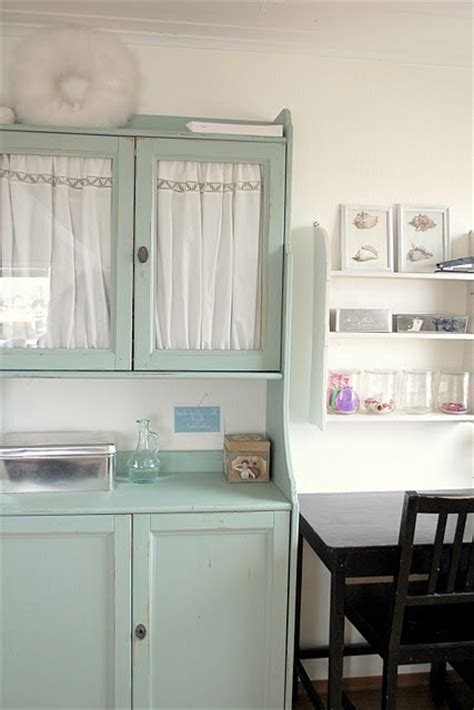 fabric kitchen cabinet doors ikea hutch painted green with fabric inside glass doors 7119