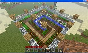 What is the optimum pattern to place crops in Minecraft ...