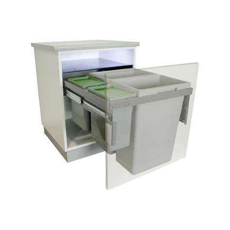 tiroir de cuisine coulissant poubelle tiroir coulissant obasinc com