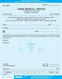Prescription Pad Template Download Doctor Prescription