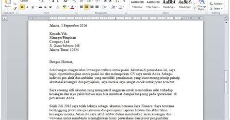 contoh surat lamaran kerja lewat email contoh urip