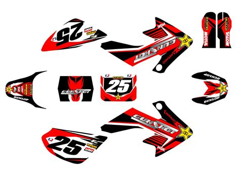 kit d 233 co crf50 pit bike gunshot 2015 kit d 233 co dirt bike