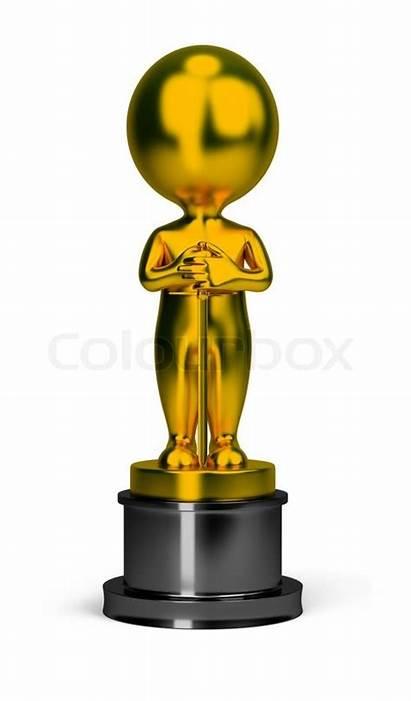 Oscar 3d Clipart Clip Award Illustrations Oscars