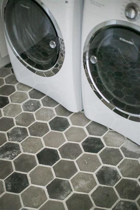 taupe hex tiles design ideas