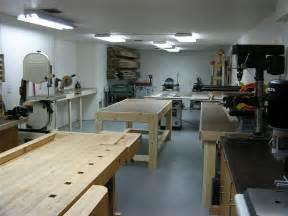 Basement Finishing Plans by John S Basement Woodshop Shop Tour The Wood Whisperer