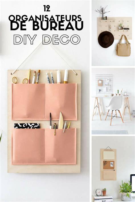 bureau diy 12 diy pour fabriquer un organiseur mural de bureau