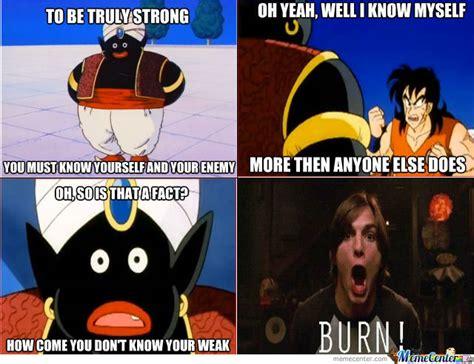 Mr Badass Meme - popo burns yamcha by nikeface28 meme center