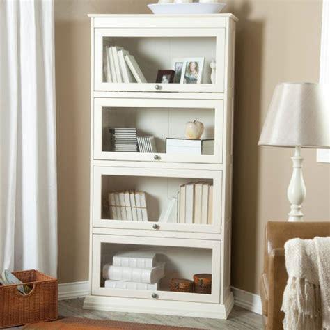 Cheap White Book Shelf With Doors  White Book Shelf