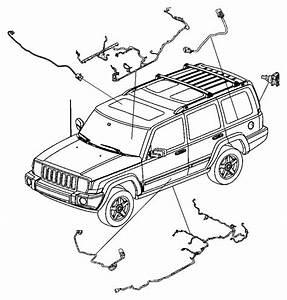 Jeep Grand Cherokee Wiring  Pretensioner  Pretentioner