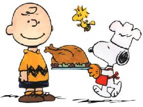 thanksgiving brown snoopy
