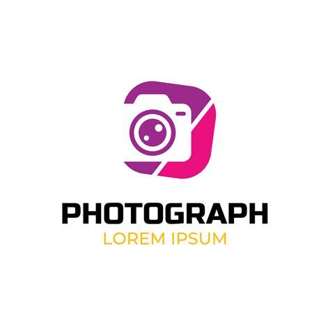 photograph logo template   vector art stock