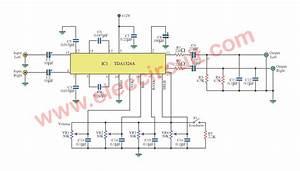 Stereo Tone Control Circuit Using Ic Tda1524a