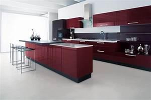 Cucine Rosse Moderne Home Interior Idee Di Design Tendenze E ...