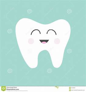 Dental Care Tooth Character Vector Illustration ...