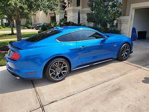 Back into a mustang. GT premium, PP2, manual, active exhaust, 401A, B&O : Mustang